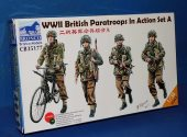 Bronco 1/35 35177 WWII British Paratroops in Action Set A Date: 00's