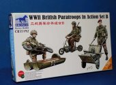 Bronco 1/35 35192 WWII British Paratroops in Action Set B Date: 00's