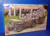 Bronco 1/35 35169 British Airborne Troops Riding 1/4 Ton Truck & Trailer Date: 00's