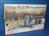 Dragon 1/35 6260 88mm Flak 36 w/ Crew Date: 00's