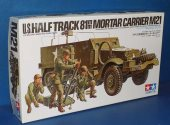 Tamiya 1/35 35083 M21 Half Track Mortar Carrier Date: 00's