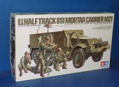 Tamiya 1/35 35083 M21 Half Track Mortar Carrier Date: 80's