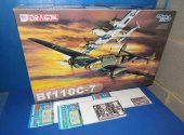 Dragon 1/32 3203 Bf110C-7 w/ Extras Date: 00's