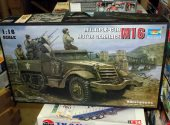 Trumpeter 1/16 00911 M16 Half Track Multiple Gun Motor Carriage Date: 00's
