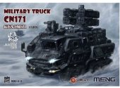 Meng Model na MMS-010 The Wandering Earth Military Truck CN171 (Toon Model)