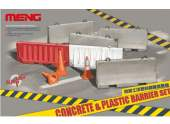 Meng Model 1/35 SPS-012 Concrete & Plastic Barrier Set