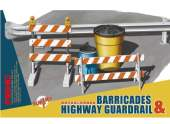 Meng Model 1/35 SPS-013 Barricades & Highway Guardrail