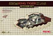 Meng Model 1/35 SPS-037 Interior Set for Sd.Kfz.182 King Tiger (Henschel Turret)