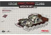 Meng Model 1/35 SPS-062 Interior Set for Sd.Kfz.182 King Tiger (Porsche Turret)