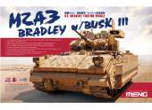 Meng Model 1/35 SS-004 U.S. Infantry Fighting Vehicle M2A3 Bradley w/BUSK III