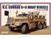 Meng Model 1/35 US Cougar 6×6 MRAP Vehicle SS-005
