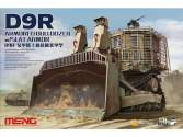 Meng Model 1/35 SS-010 D9R Armoured Bulldozer with Slat Armour