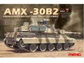 Meng Model 1/35 TS-013 French Main Battle Tank AMX-30B2