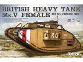 Meng Model 1/35 TS-029 British Heavy Tank Mk. V Female