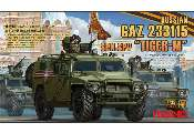 Meng Model 1/35 VS-008 Russian GAZ 233115 - Tiger-M - SpN SPV