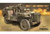 Meng Model 1/35 VS-012 Wasp Flamethrower Jeep