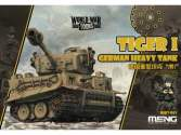 Meng Model na WWT-001 German Heavy Tank Tiger I - World War Toon