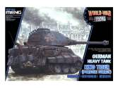 Meng Model na WWT-003 King Tiger (Porsche Turret) - World War Toon