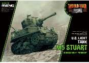 Meng Model na WWT-012 M5 Stuart US Light Tank - World War Toon