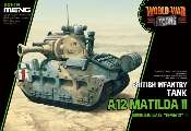 Meng Model na WWT-014 British Infantry Tank A12 Matilda II - World War Toons