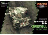 Meng Model na WWT-017 British Infantry Tank Churchill - World War Toon
