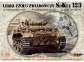 Mirage Hobby 1/35 35108 SdKfz 123 Light Recce Tank