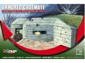 Mirage Hobby 1/35 354005 Armored Casemate - Machine Gun Bunker