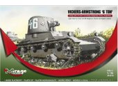 Mirage Hobby 1/35 355010 Vickers Armstrong '6 Ton' Light Tank