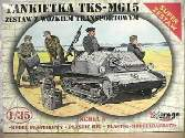 Mirage Hobby 1/35 35515 TKS/MG 15 + univers. Transport vehicle - super set     **LTD EDITION**