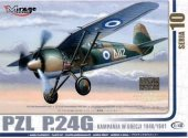 Mirage Hobby 1/48 48108 PZL P.24G Greece 1940/41