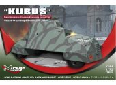 Mirage Hobby 1/72 724001 KUBUS - Warsaw 1944 Uprising Car
