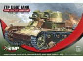 Mirage Hobby 1/72 726002 7TP Light Tank Twin Turret Version