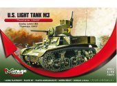 Mirage Hobby 1/72 726073 US Light Tank M3 - Tunisia 1943