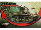 Mirage Hobby 1/72 726075 US M3A1 (Late) Pacific 1943