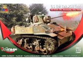 Mirage Hobby 1/72 726087 US Light Tank M5A1 (Late) 3rd AD Normandy 1944