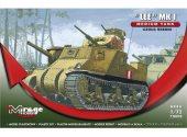 Mirage Hobby 1/72 728002 Lee Mk.I Medium Tank