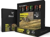 Mig Productions 20ml x6 ABT307 Diorama Colours - Oil Paint Set