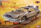 Polar Lights 1/25 932 Back to the Future III Final Act Time Machine Snap Together Model