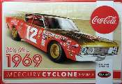 Polar Lights 1/25 948 Bobby Allison 1969 Coca Cola Mercury Cyclone