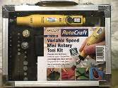Rotacraft na 18 Variable Speed Mini Rotary Tool Kit