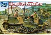 Riich Models 1/35 35011 Universal Carrier Mk.1 with Crew