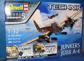 Revell 1/32 0452 Junkers Ju 88 A-4 - Technik model