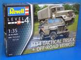 Revell 1/35 3260 M34 Tactical Truck and Off-Road Vehicle