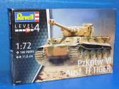 Revell 1/72 3262 PzKpfw VI Ausf. H Tiger