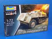 Revell 1/72 3264 sWS with 15 cm Panzerwerfer 42