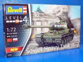 Revell 1/72 3269 Soviet Heavy Tank IS-2