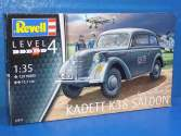 Revell 1/35 3270 German Staff Car Kadett K38 Saloon