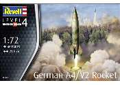 Revell 1/72 3309 German A4/V2 Rocket