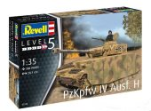 Revell 1/35 3333 Panzer IV Ausf. H