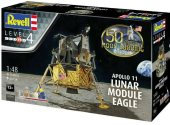 Revell 1/48 3701 Apollo 11 Lunar Module Eagle Gift Set